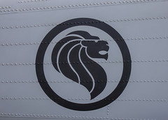 Logo on aircraft of Singapore Air Force