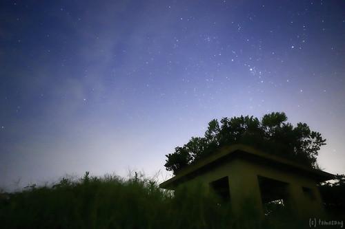 Mt. Aguri at Night