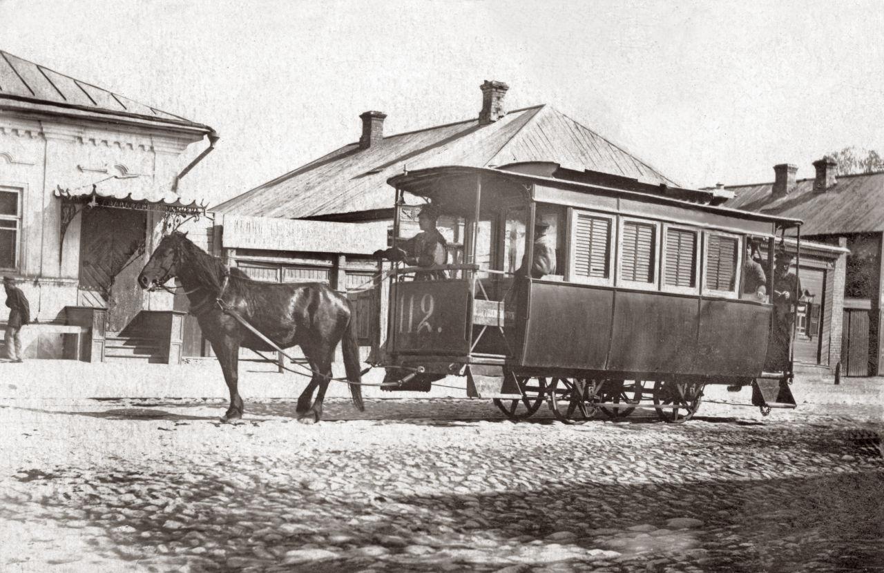 Городская конно-железная дорога