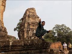 Angkor, Eastern Mebon Police 20180203_101748 DSCN2608