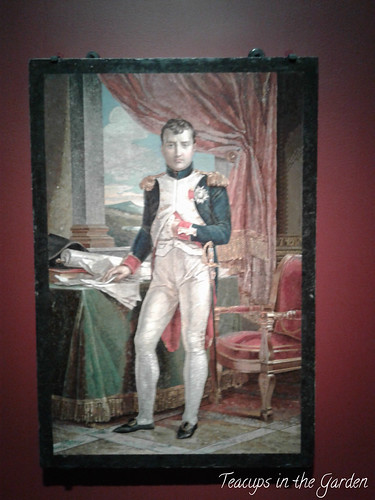 3-Napoleon in his study wearing the uniform of a grenadier of the guard