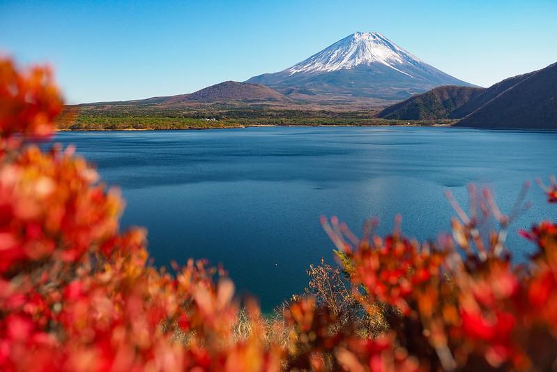 富士山|本栖湖