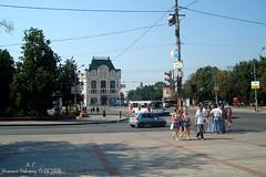 На площади Минина и Пожарского