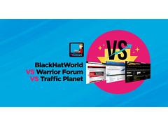 The Best Forum BlackHatWorld vs Warrior Forum vs Traffic Planet