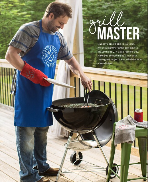 Totally Stitchin Grill Master 1