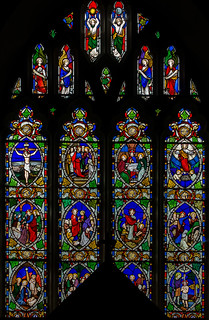 Herstmonceux, All Saints' church, East Window