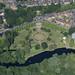 Aerial of Wensum Park in Norwich