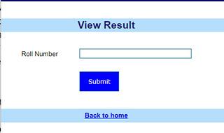 KGMU Nursing Result - Enter Roll Number