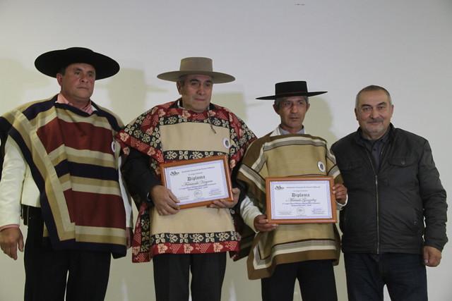 Asociación de Huasos y Laceros de Coltauco premiaron a sus integrantes más destacados el 2017