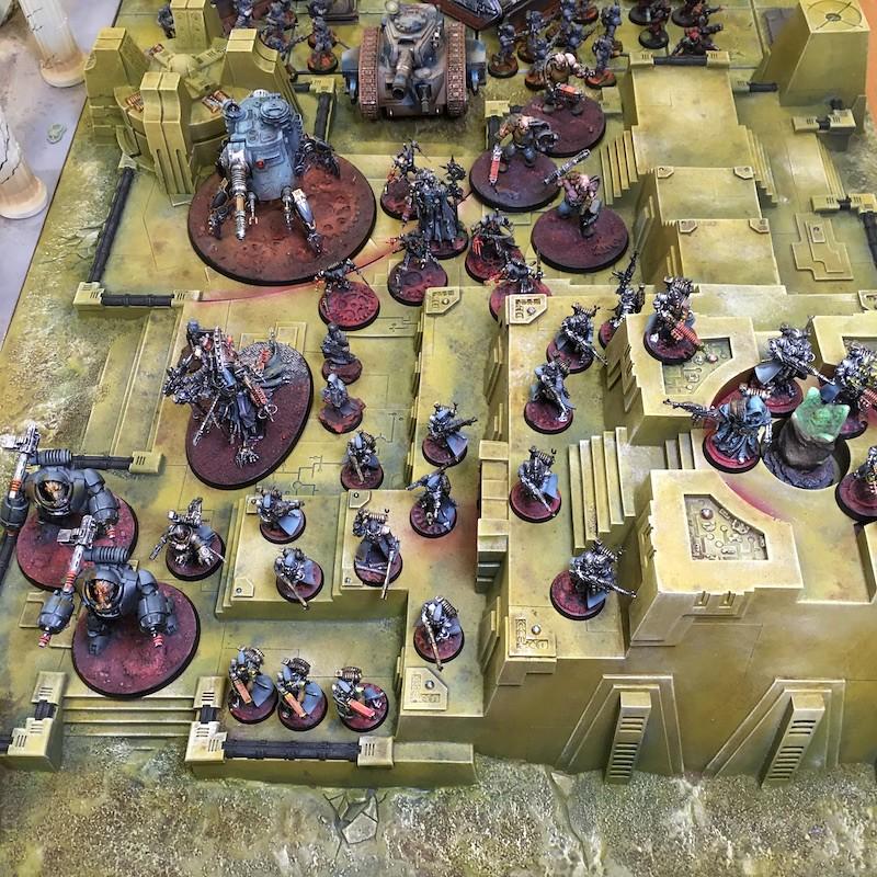 Medal of Colors Indomitus Crusade Armies-19