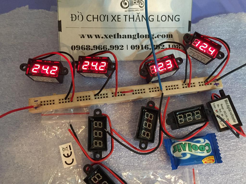 Đồng hồ đo bình với kích thước nhỏ gọn