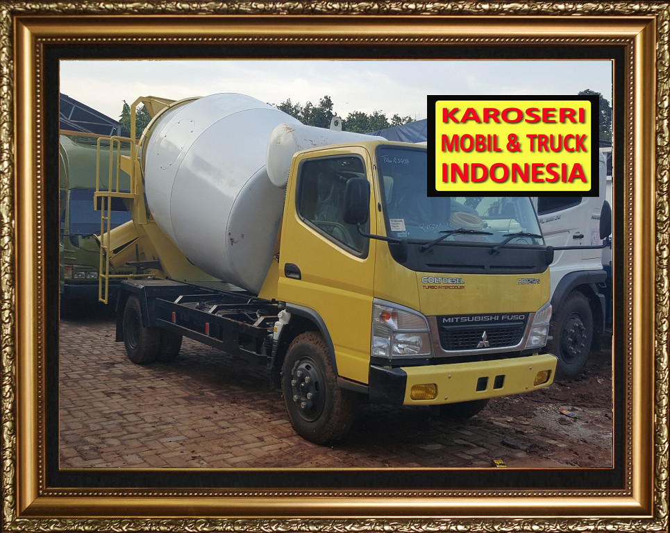 Karoseri Mobil & Truck - Mixer