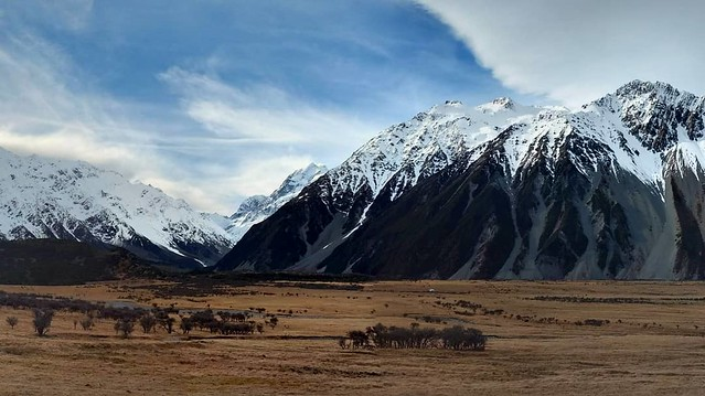 Mt. Cook National Park. Just amazing!  #newzealand #mtcook #incredible #travel #roadtrip