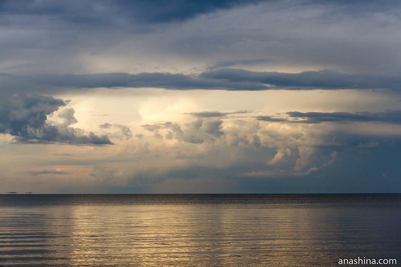 Облако, Ладожское озеро, Приозерск