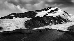 Gran Zebru konigspitze monochrome