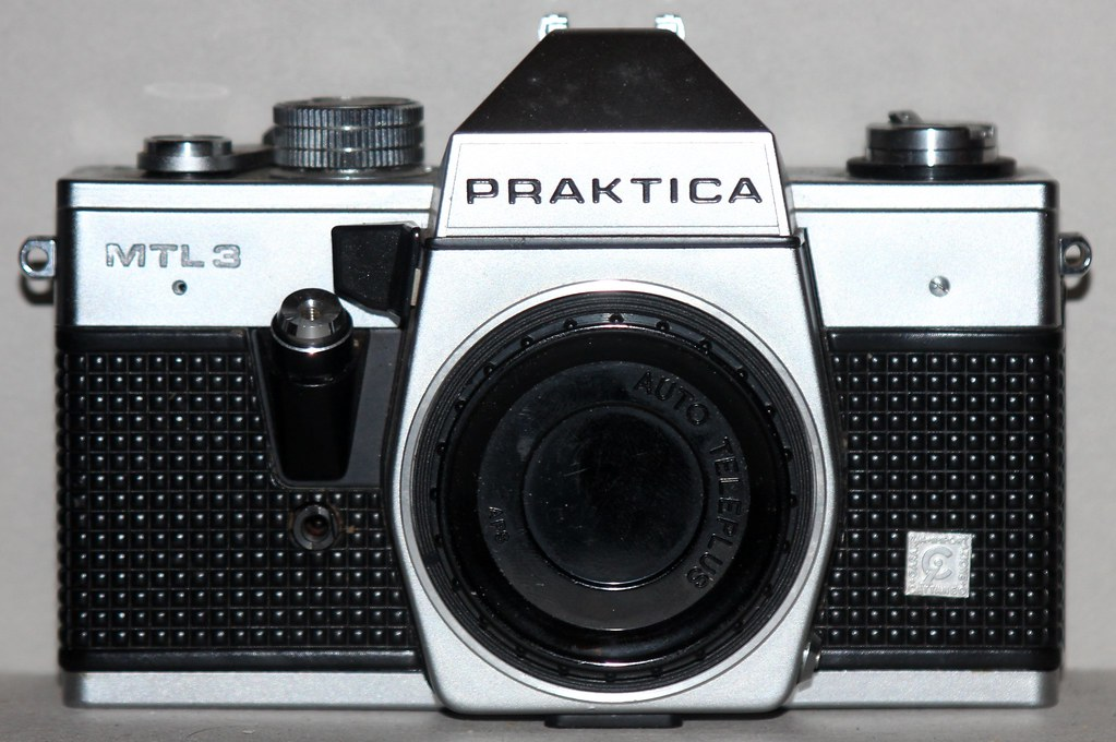 Praktica mtl mm film slr camera youtube