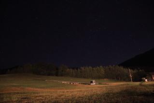 夜空(カシオペア座)