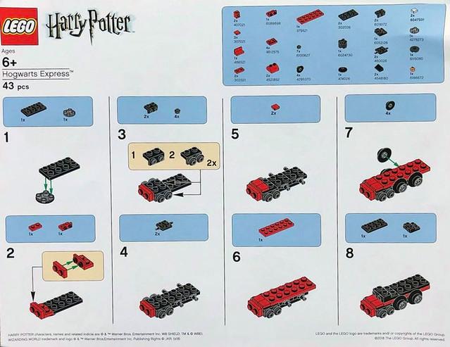 Zbuduj własny Mini Hogwarts Express 1