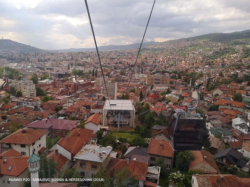 2018 Bosnia Sarajevo Trebevic Cable Car
