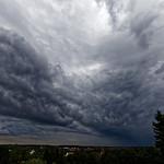 13. August 2018 - 19:44 - Wetterwolken