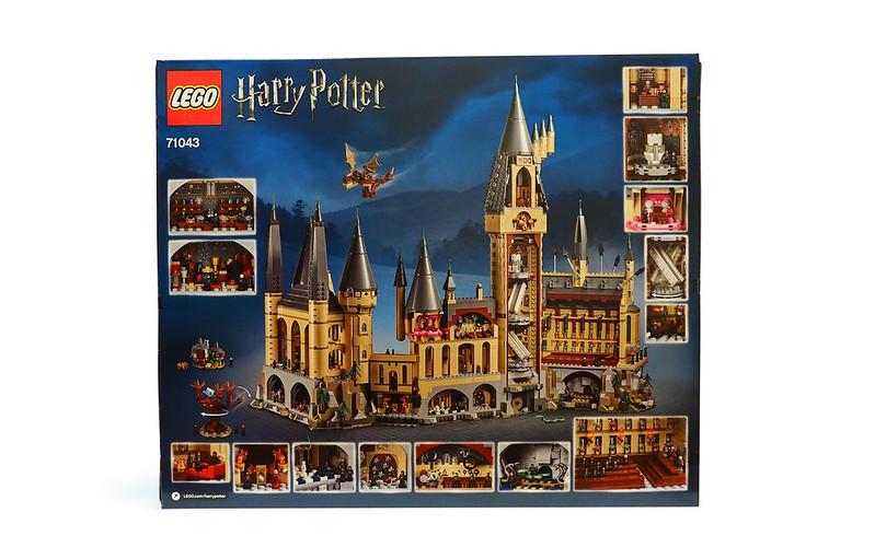LEGO Harry Potter Hogwarts Castle 71043 box-back