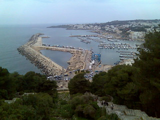 The seaport at the extreme South of Apulia