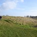 022-20180221_Gordano District-Somerset-Cadbury Camp Iron Age Hill Fort-western entrance to Hill Fort (L) and southern ramparts (R)