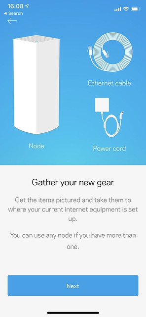 Linksys iOS App - Setup - #4