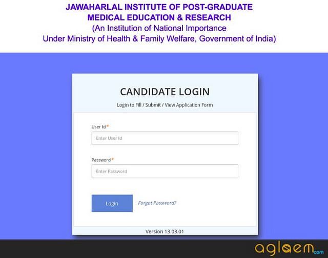JIPMER PG 2019 Admit Card / Hall Ticket   Download Here