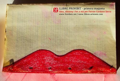 Llibre prohibit abans de cosir; llibre d'artista de Ferran Cerdans Serra, 2015.