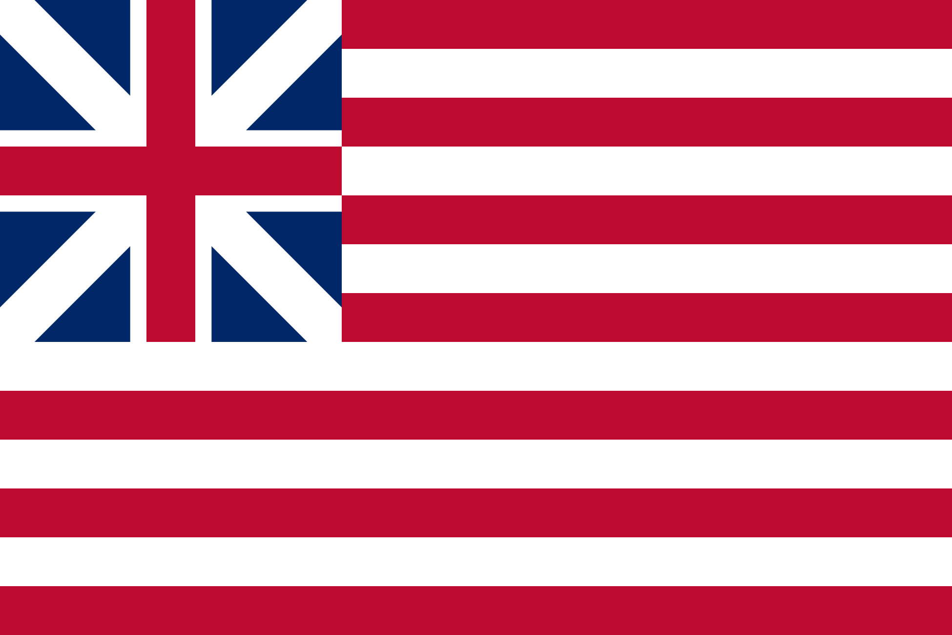 Flag of the United States, 1776-1777