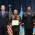 Vi, 07/27/2018 - 14:31 - On July 27, 2018, the William J. Perry Center for Hemispheric Defense Studies hosted a graduation ceremony for its 'Defense Policy and Complex Threats' and 'Cyber Policy Development' programs. The ceremony and reception took place in Lincoln Hall at Fort McNair in Washington, DC.