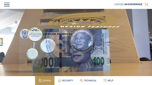 Mandela note design features app