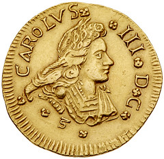 King Carlos III obverse