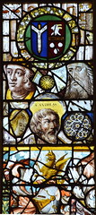 east window (fragments, detail, 15th, 16th and 17th Centuries, English and continental)