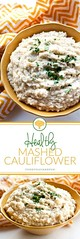 Healthy Mashed Cauli