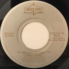 KAREN YOUNG:HOT SHOT(LABEL SIDE-B)