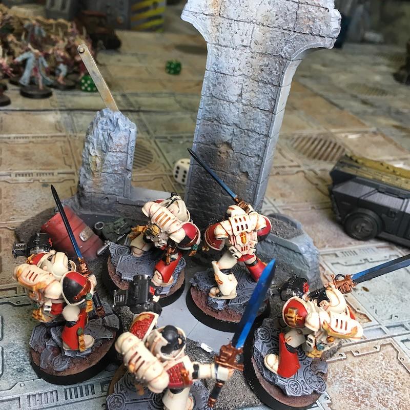 Medal of Colors Indomitus Crusade Battles-17