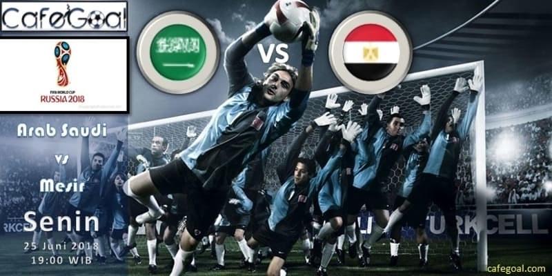 Prediksi Bola Saudi Arabia vs Mesir , Hari Senin 25 June 2018 – Piala Dunia