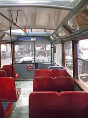 Tatra tram interior