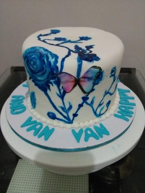 Cake by Hazel Marie Raymundo of Kitchen Secrets Cakes & Pastries