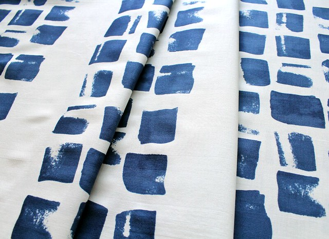 COTTON+STEEL Paper Bandana 4021-2 Painted Indigo