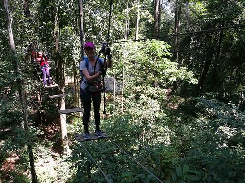Skytrex Extreme in Melaka Aug 2018
