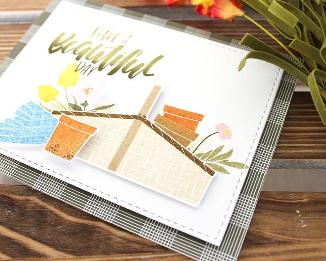 LizzieJones_PapertreyInk_StampAFaire2018_CommunityGarden_BeautifulDayCard2