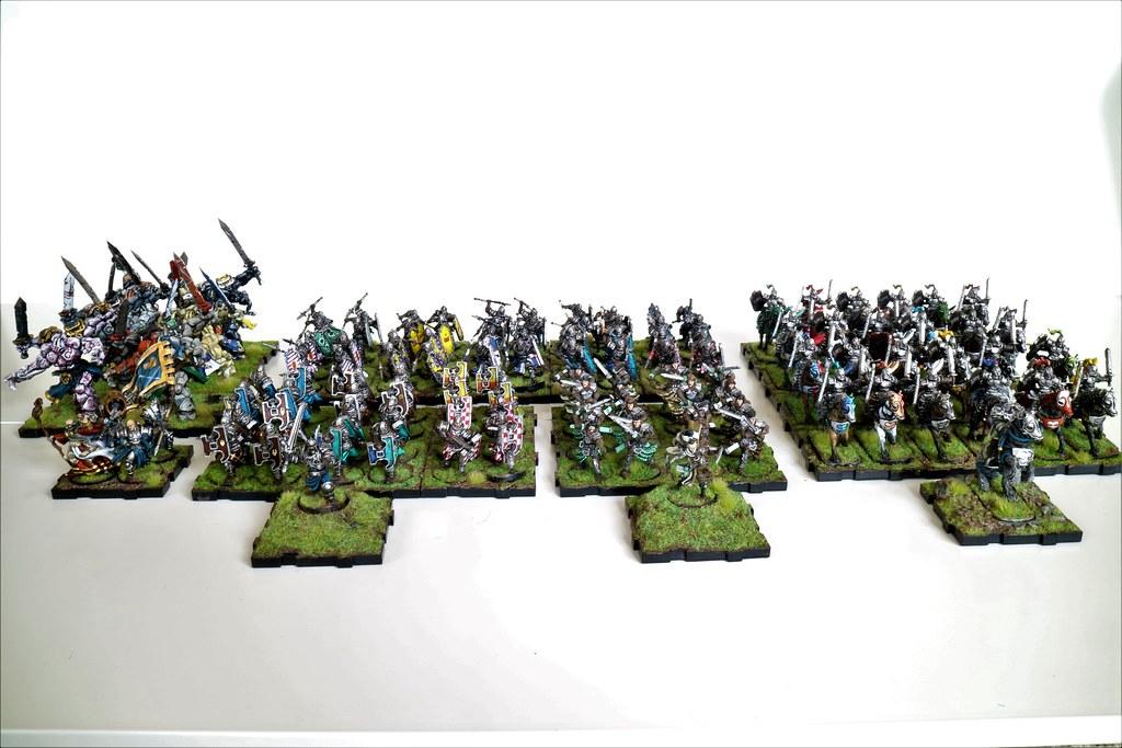 Runewars Miniatures Full Daqar Army