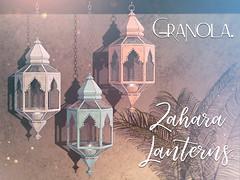 Granola. Zahara Lanterns.