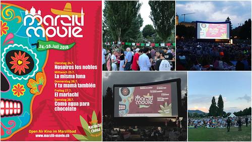 México invitado de honor del festival al aire libre Marzili Movie