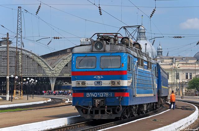 UZ VL40U-1378-1, Lviv, 2018/05/24.