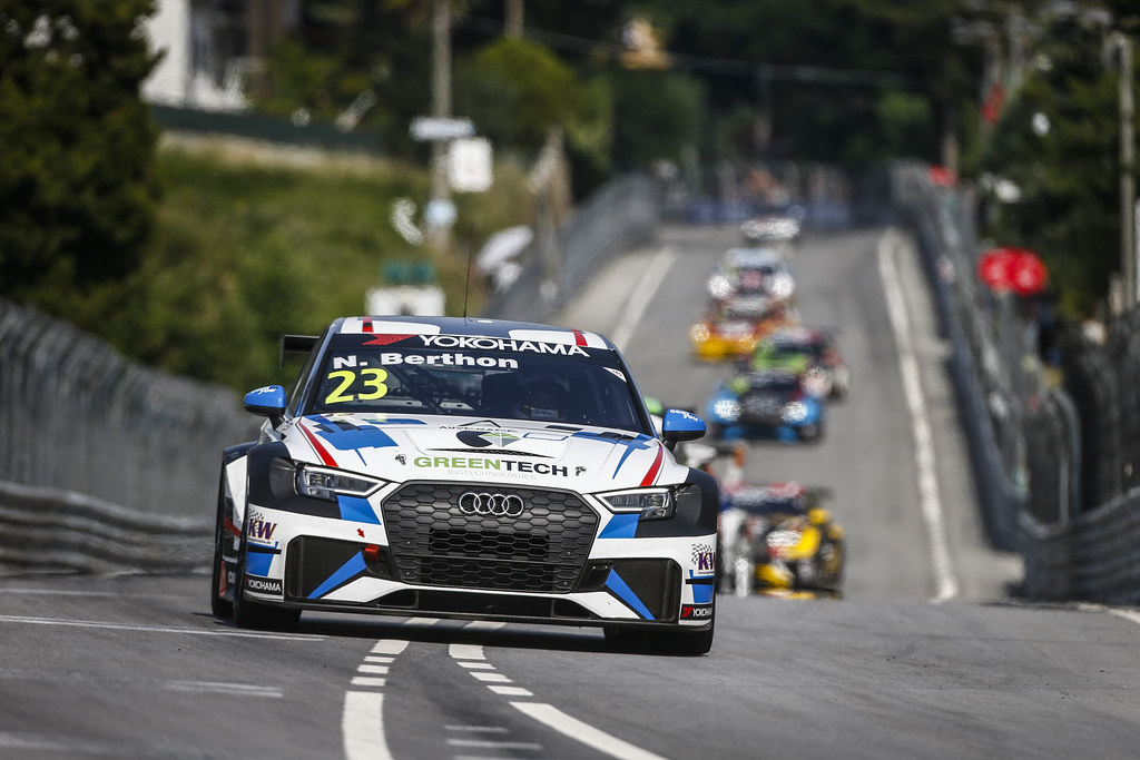 23 BERTHON Nathanael, (fra), Audi RS3 LMS TCR team Comtoyou Racing, action during the 2018 FIA WTCR World Touring Car cup of Portugal, Vila Real from june 22 to 24 - Photo Francois Flamand / DPPI
