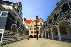 Stallhof at Dresden Castle, Germany